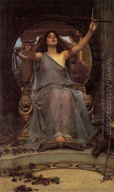 Circe Offering the Cup to Ulysses 1891