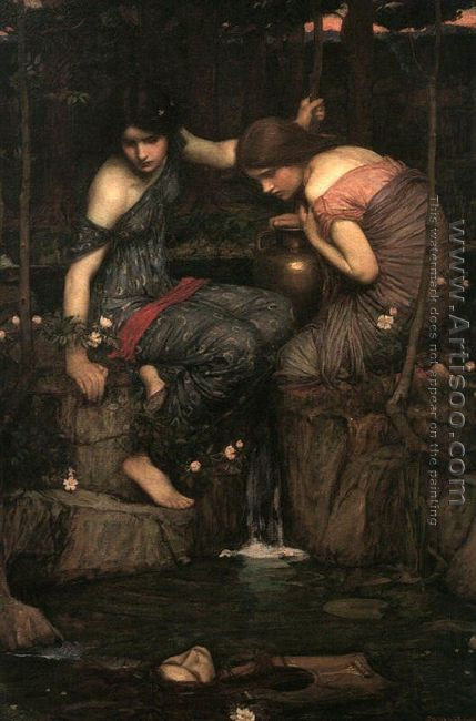 Nymphs finding the Head of Orpheus (or Women with Water Jugs)