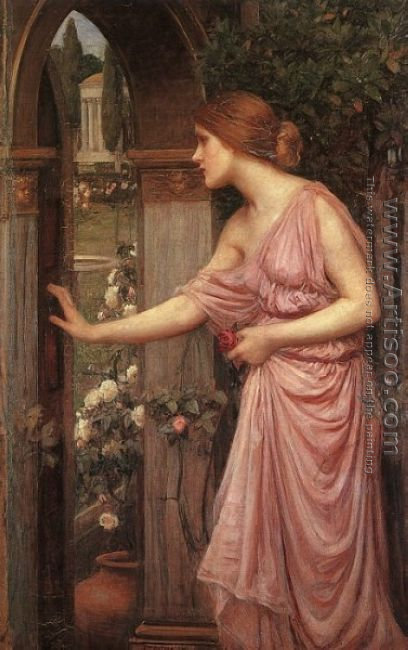 Psyche Opening the Door into Cupids Garden 1904