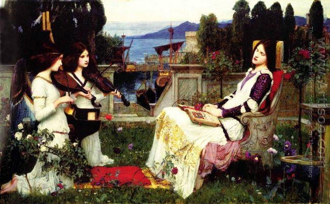 St Cecilia 1895