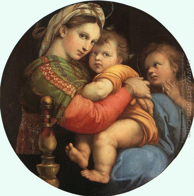 Madonna della Sedia 1518