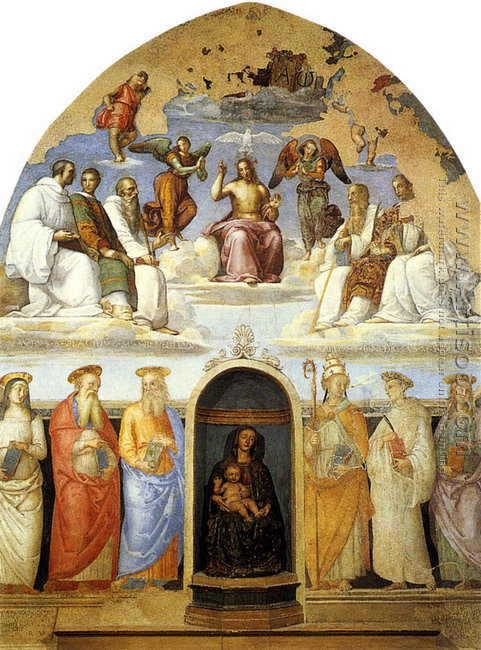 Perugia, San Severo chapel