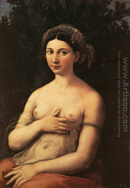 Portrait of a Young Woman (or La Fornarina)