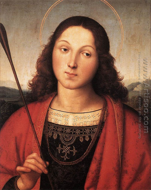 St. Sebastian (probably with Perugino) 1500-01