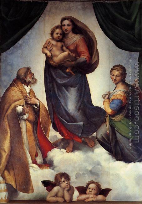 The Sistine Madonna 1513-14