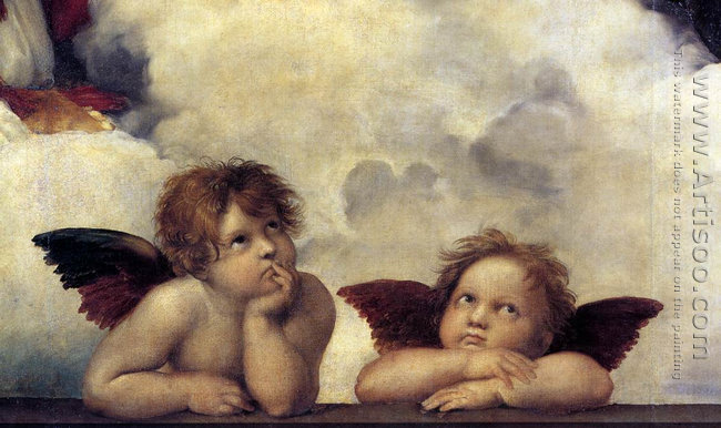 The Sistine Madonna (detail)