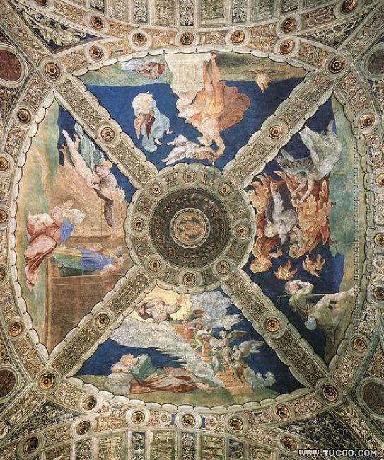 The Stanza della Segnatura Ceiling