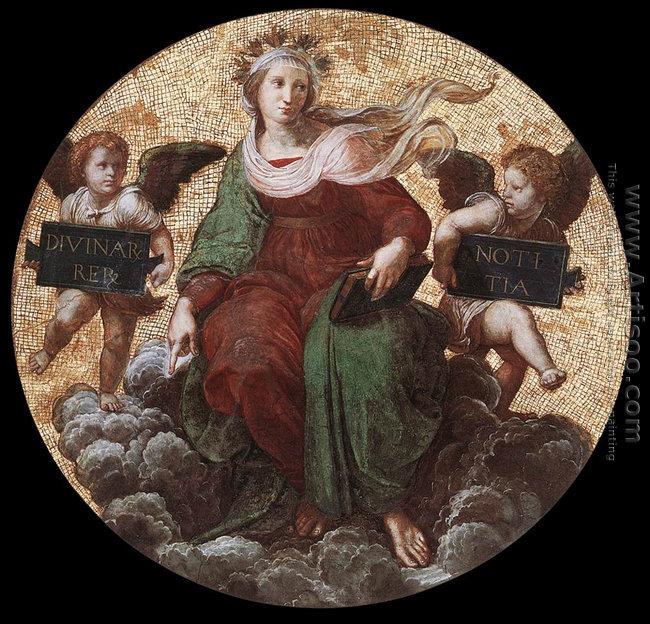 The Stanza Della Segnatura Ceiling Theology