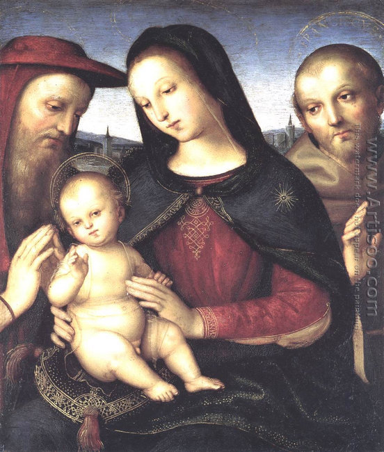 The Virgin and Child with Saint John the Baptist (La Belle Jardi
