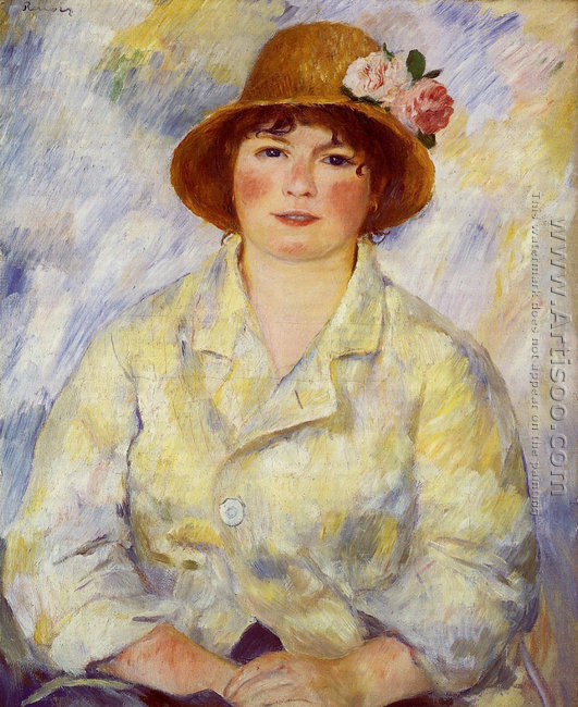 Aline Charigot (future Madame Renoir)