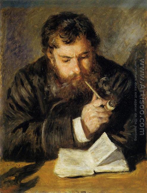 Claude Monet Aka The Reader