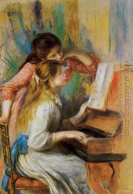 Girls at the Piano I
