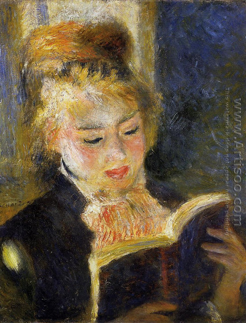 The Reader Aka Young Woman Reading A Book
