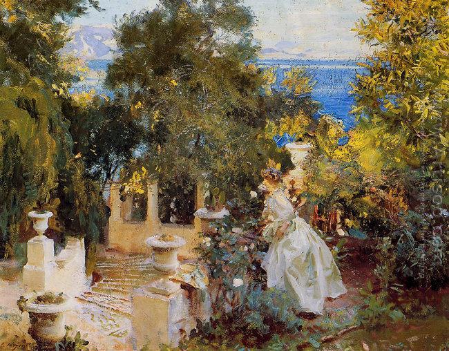 A Garden in Corfu