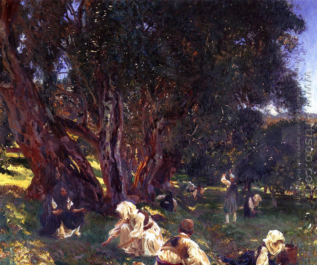 Albanian Olive Pickers