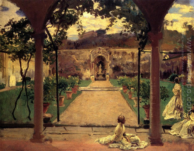 At Torre Galli Ladies In A Garden