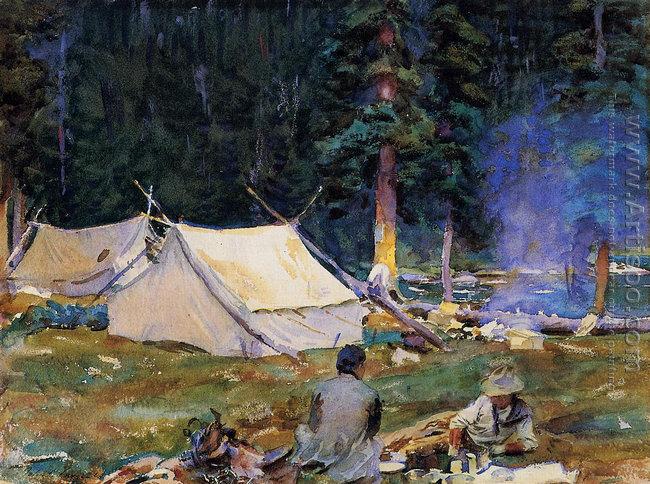 Camping at Lake O'Hara