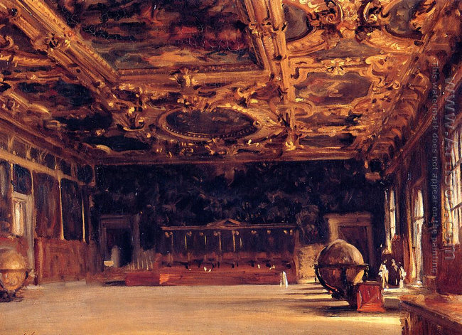 Interior of the Doge's Palace