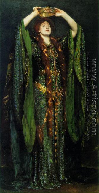 Miss Ellen Terry As Lady Macbeth