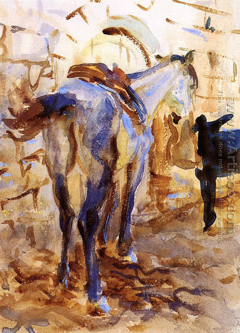 Saddle Horse, Palestine