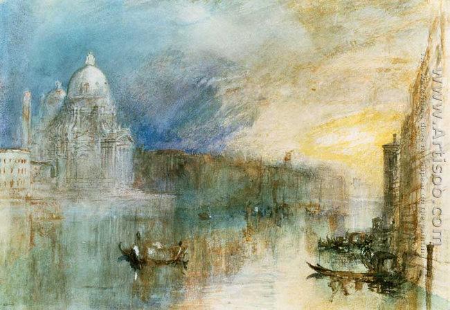Venice Grand Canal with Santa Maria della Salute