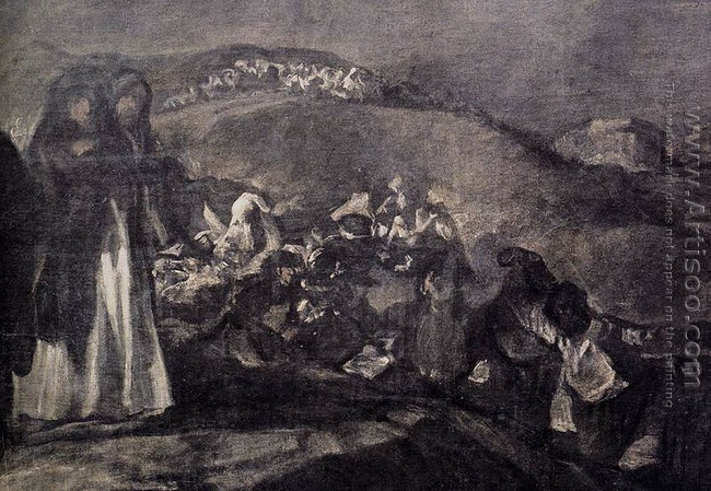 A Pilgrimage to San Isidro (detail 2)