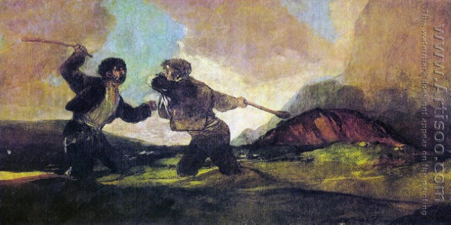 Duel with Cudgels