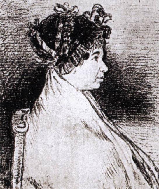 Josefa Bayeu (or Leocadia Weiss)