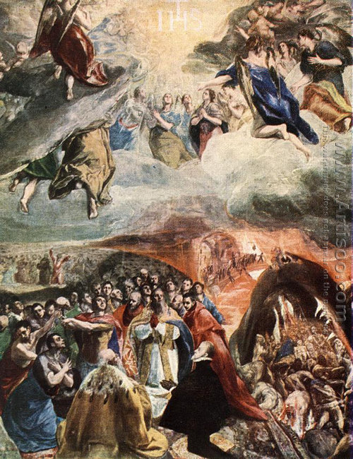 Adoration of the Name of Jesus (Dream of Philip II)