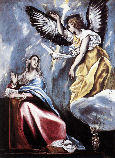 Annunciation 1595-1600