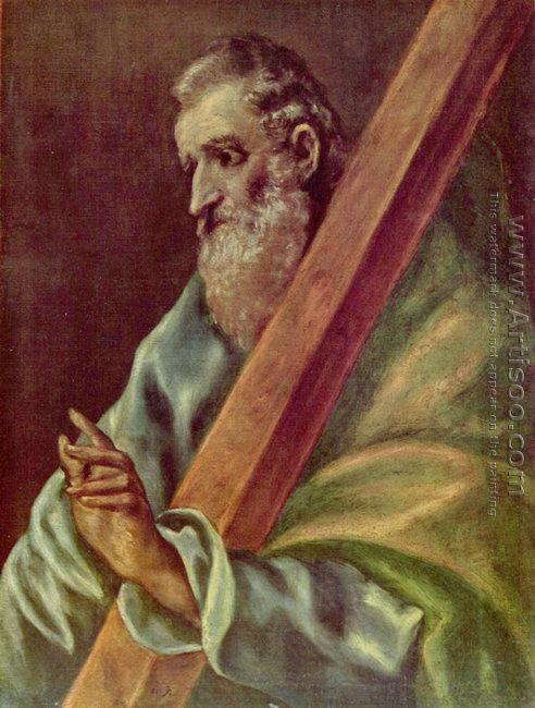 Apostle St Andrew 1610-14