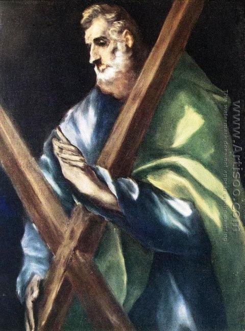 Apostle St Andrew c. 1610