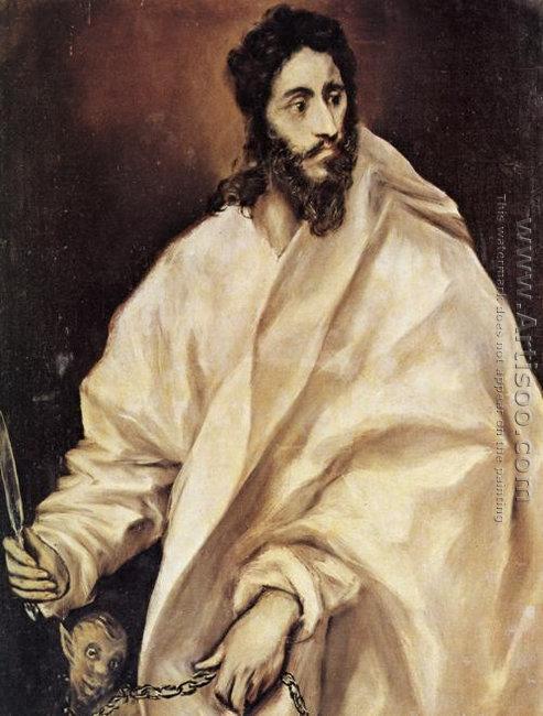 Apostle St Bartholomew 1610-14