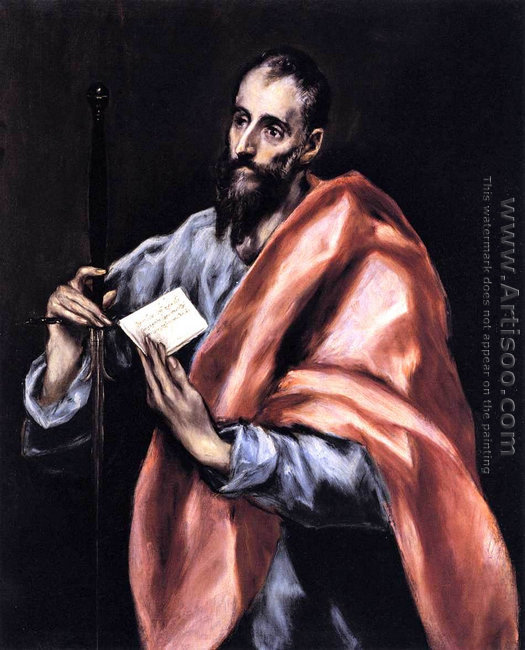 Apostle St Paul 1610-14