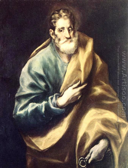 Apostle St Peter 1610-14