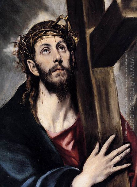 Christ Carrying the Cross (detail) 1580s
