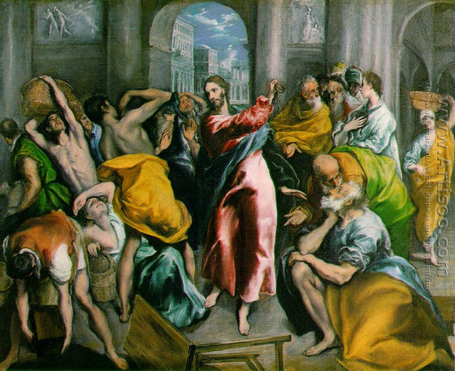Christ Driving The Traders From The Temple Ii