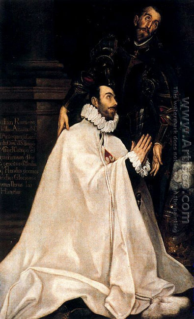 Julian Romero de las Azanas and his Patron Saint 1585-90