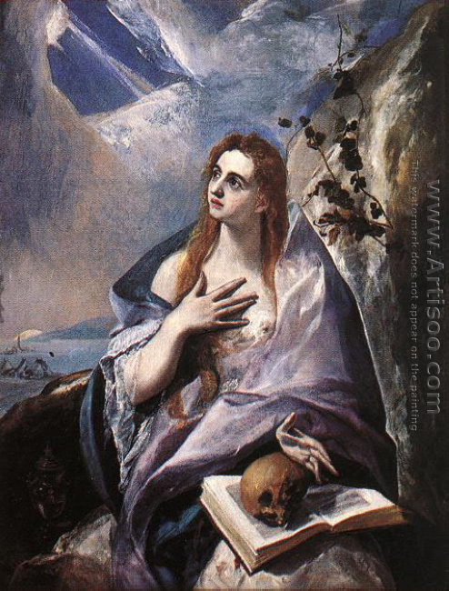 Mary Magdalen in Penitence 1576-78