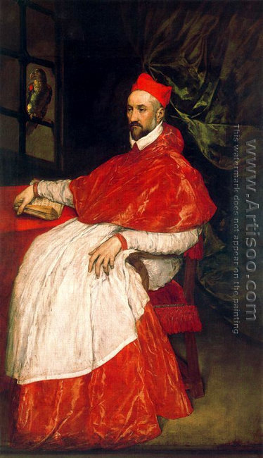 Portrait of Charles de Guise, cardinal of Lorraine, archbishop