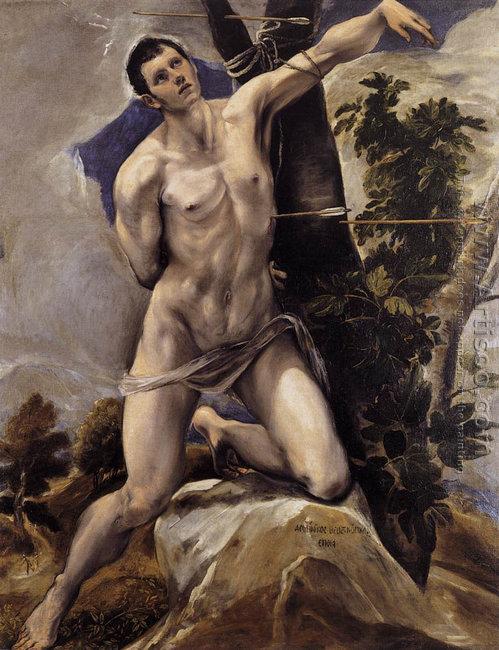 St Sebastian 1577-78