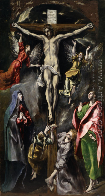 The Crucifixion 1596-1600