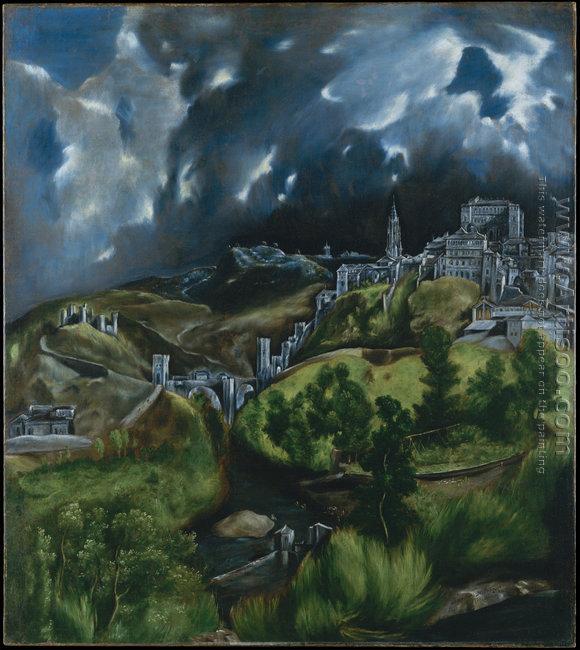 View of Toledo 1597-99