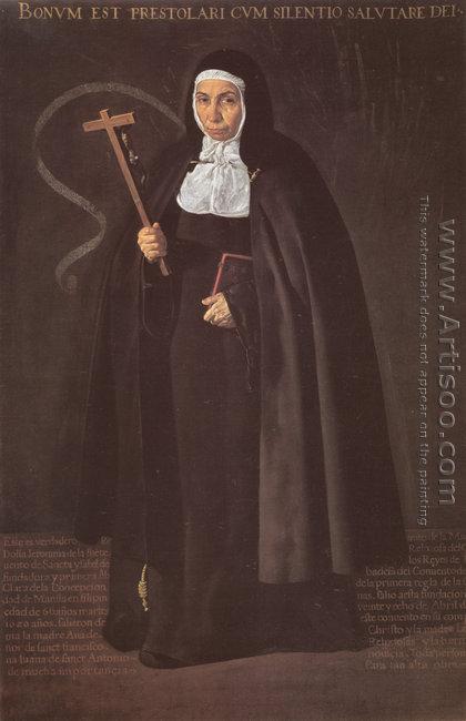 Abbess Jeronima de la Fuente 1620