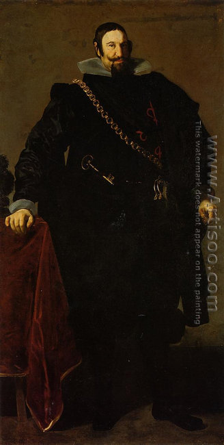 Don Gaspar de Guzman, Count of Oliveres and Duke of San Lucar l