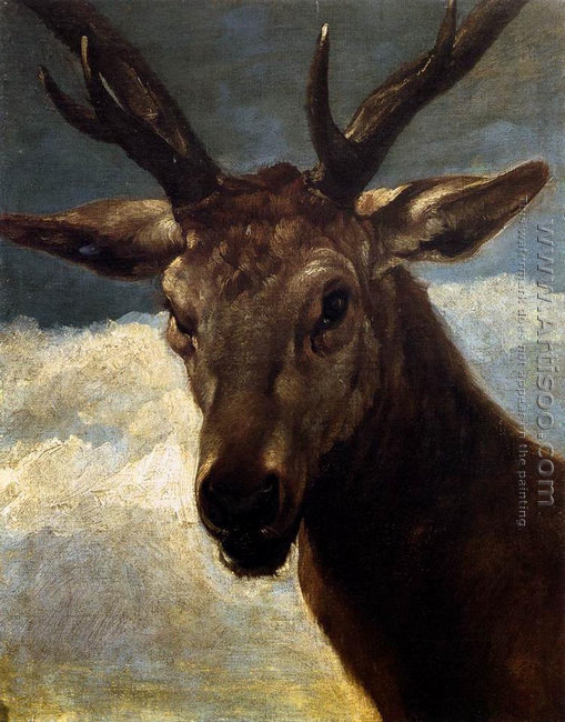 Head of a Stag 1626-27