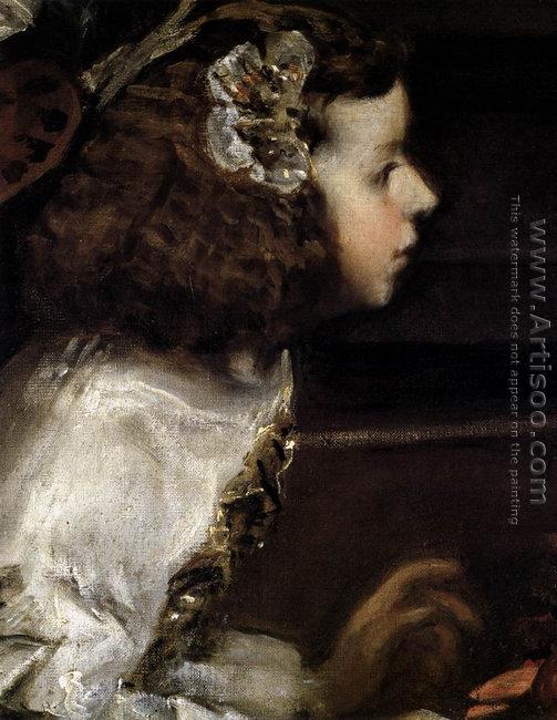 Las Meninas (detail-4) 1656-57