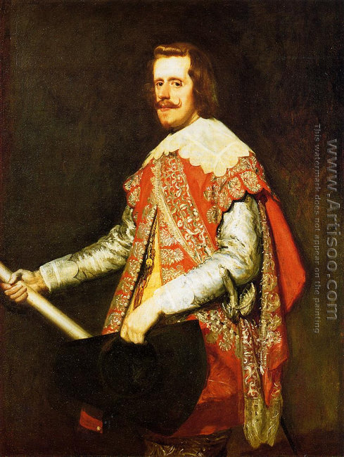 Phillip IV in Army Dress (The portrait of Fraga) 1644