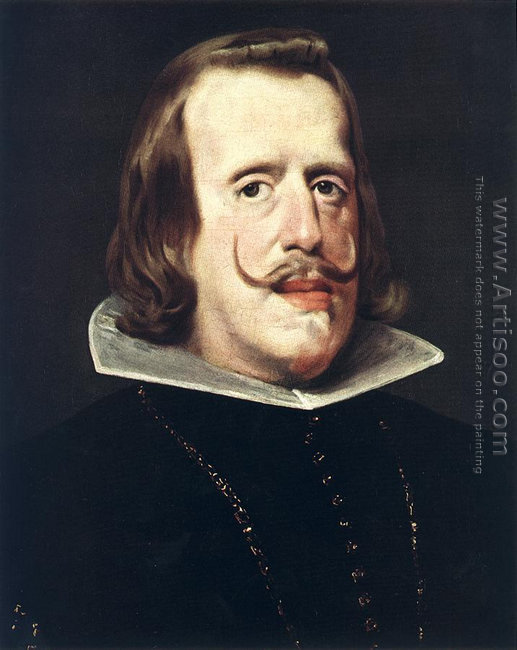 Portrait of Philip IV 1652-53