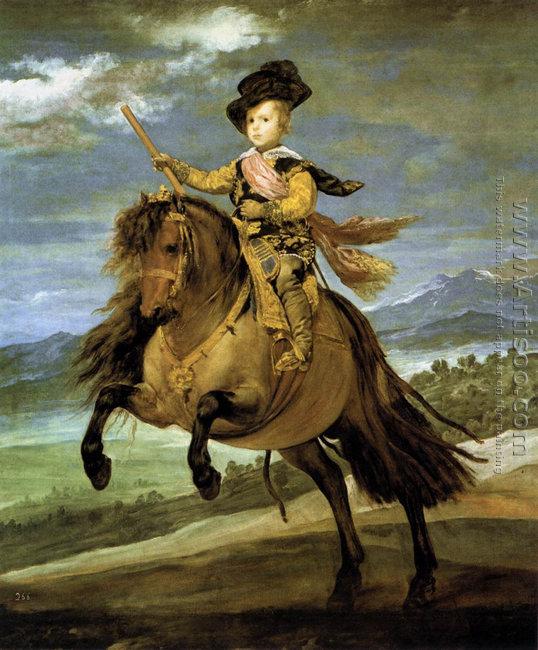 Prince Baltasar Carlos on Horseback 1635-36